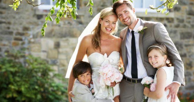 Второй брак для мужчины, для женщины, дети от первого брака