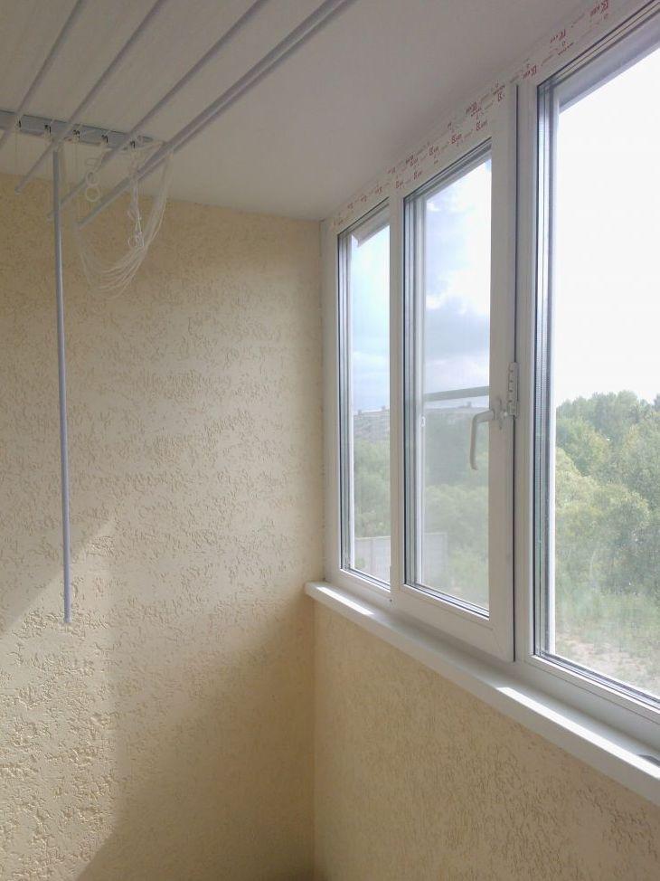 Балкон отделка декоративной штукатуркой фото