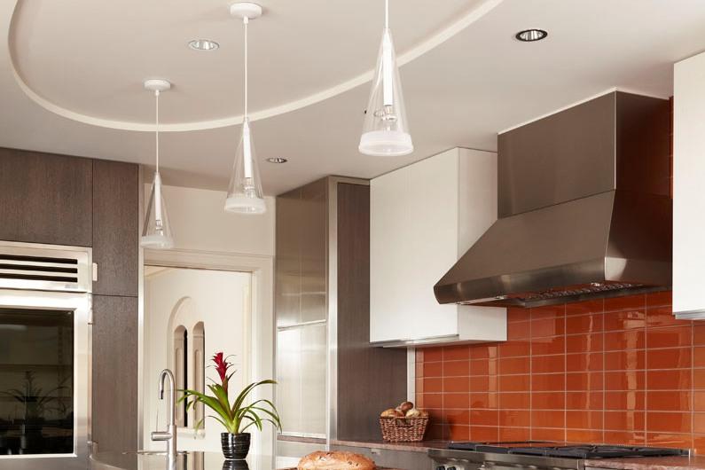 картинки потолок из гипсокартона кухня образом