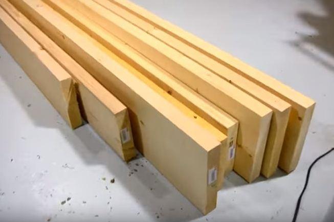 Как сделать двухъярусную кровать. Чертежи двухъярусной