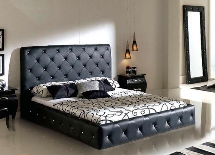 кровать фото красивая