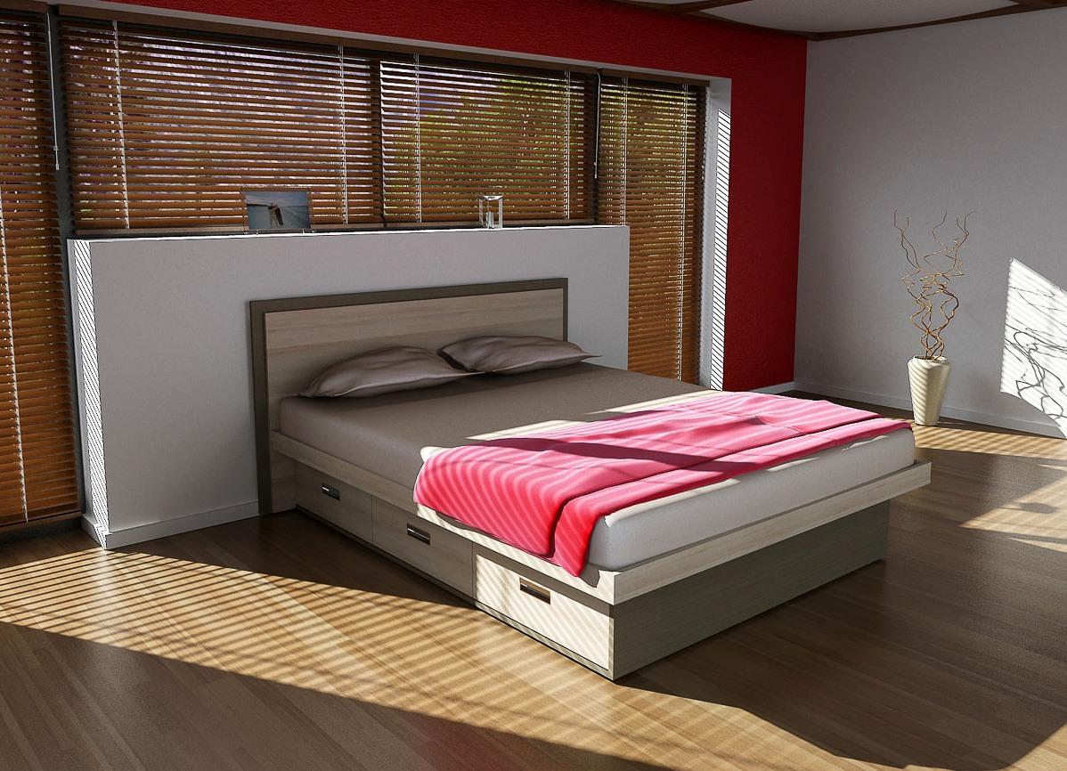 можно кровати двуспальные с ящиками для белья фото области