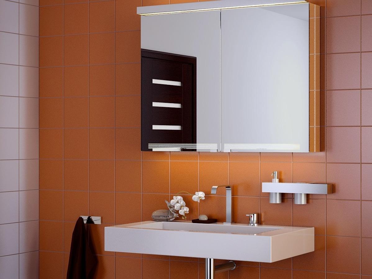 Шкафчик с зеркалом для ванной своими руками фото 571