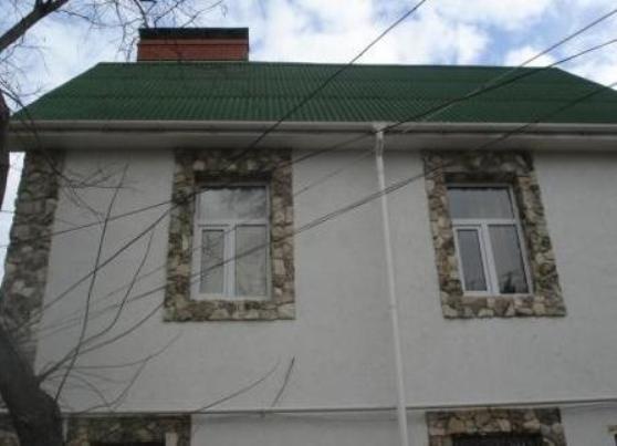 отделка окон снаружи фасада фото