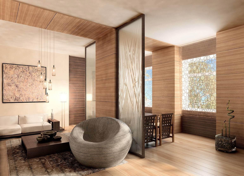 Комната с отделкой деревом картинки японские хины