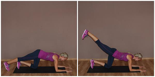 упражнения против целлюлита на ногах и попе