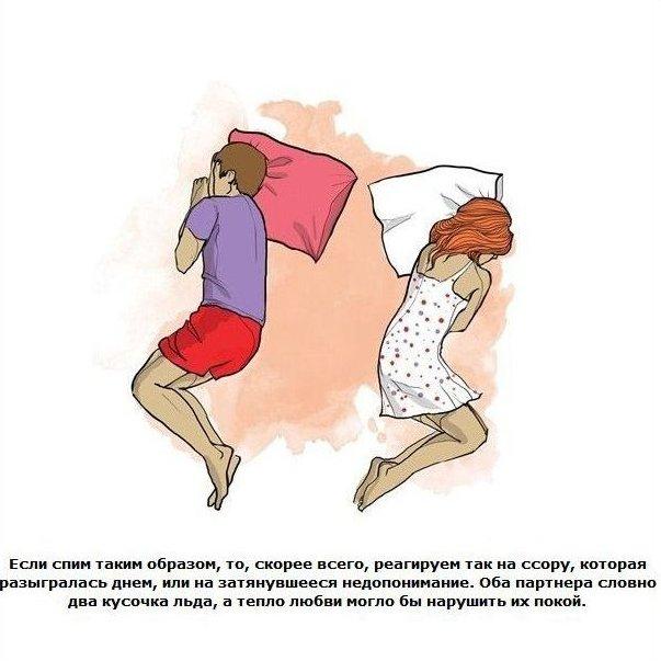 позы пары во сне значение с картинками