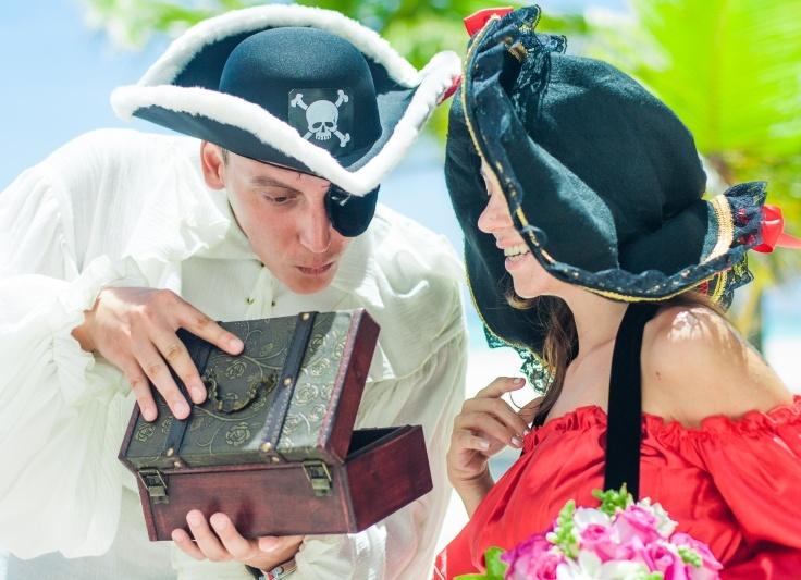 Пиратка невеста фото