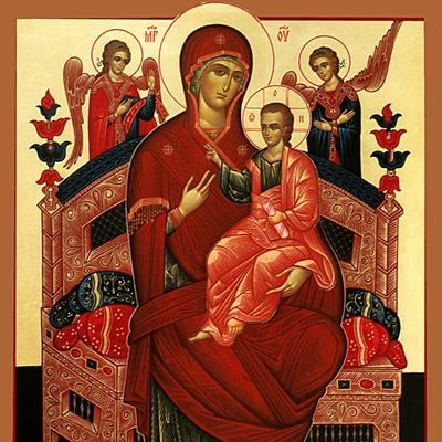 """Икона Пресвятой Богородице """"Всецарица"""": история, значение и чем помогает"""