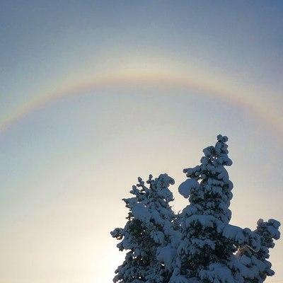 Радуга зимой - примета - novoevmire.biz