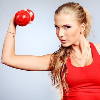 Как быстро похудеть в руках упражнения