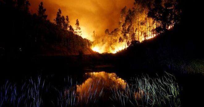 Сонник пожар на работе с огнем