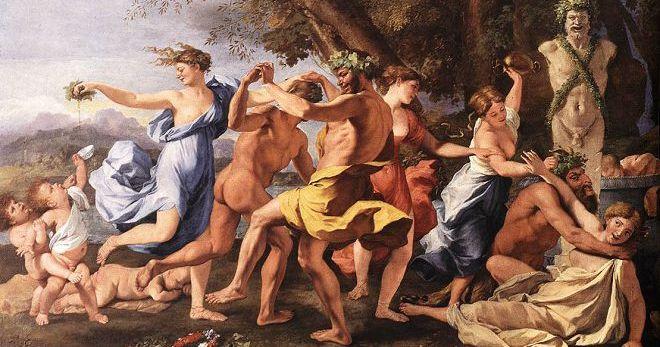 Древнегреческие праздники в честь дионисия