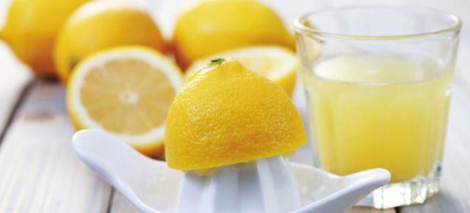 чистка почек лимоном