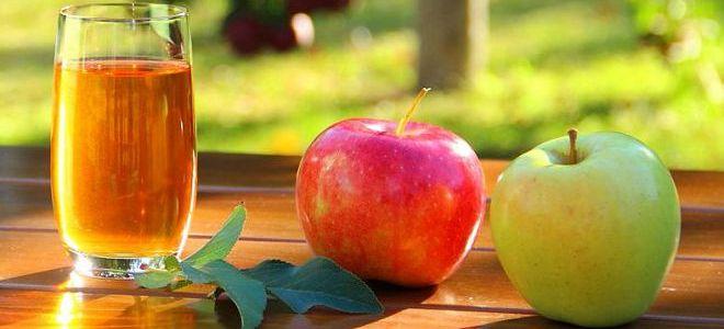 чистка почек яблочным соком