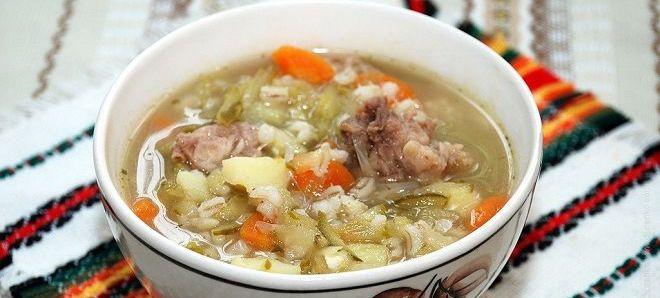 диета на перловом супе