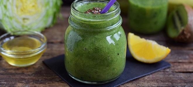 диета на зеленых коктейлях