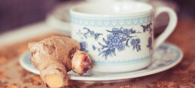 имбирный чай для похудения4
