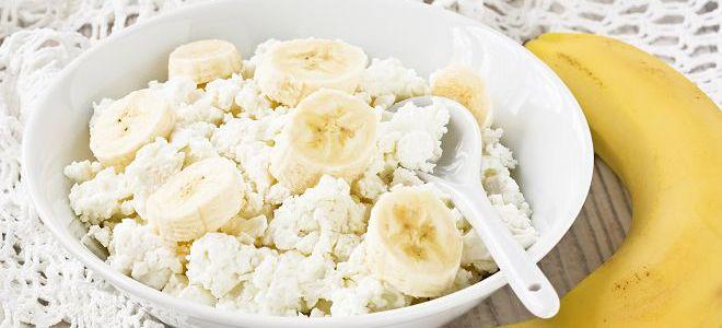 разгрузочный день на твороге и бананах