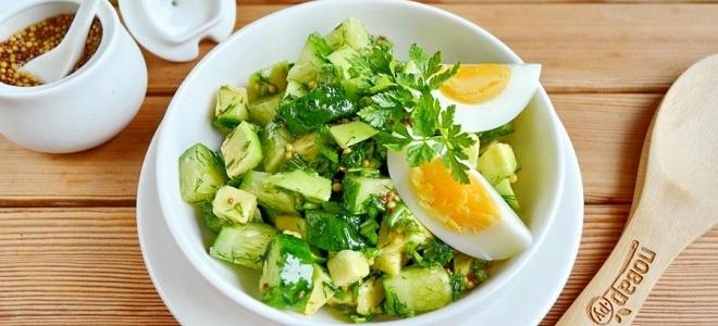 салат из авокадо для похудения