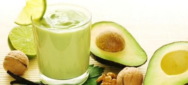 смузи из авокадо для похудения