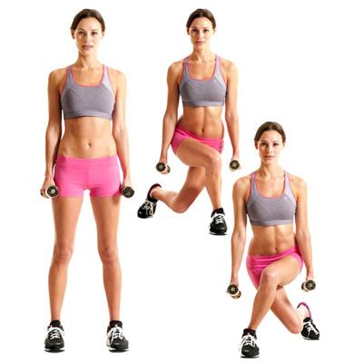 упражнения для девушек в домашних условиях3