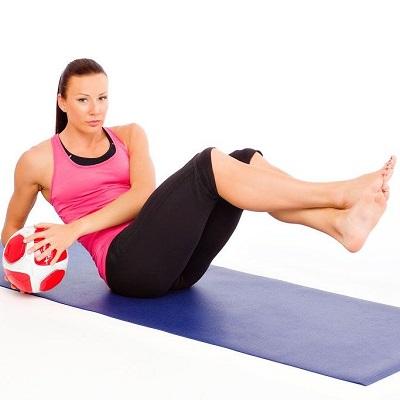 упражнения для сжигания жира на животе2
