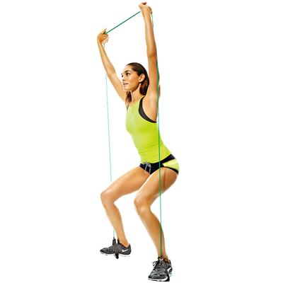 упражнения с эспандером для женщин1