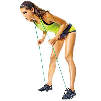 упражнения с эспандером для женщин2