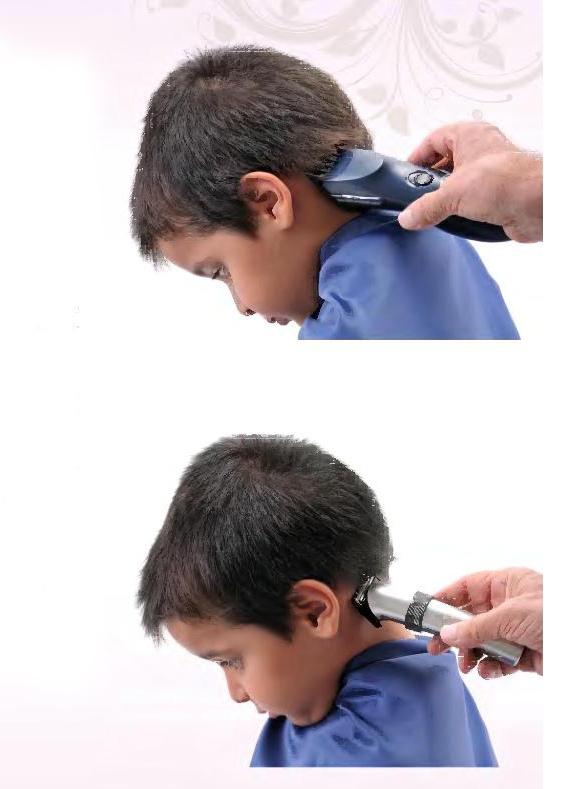 Как постричь ребенка дома