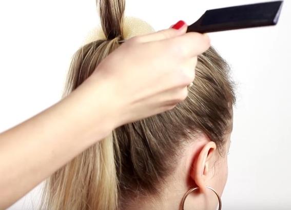 прически для тонких редких волос своими руками 4