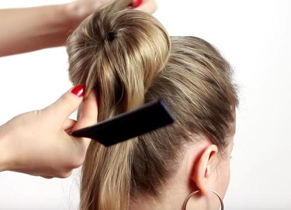 прически для тонких редких волос своими руками 7