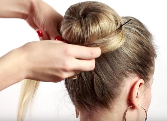прически для тонких редких волос своими руками 8