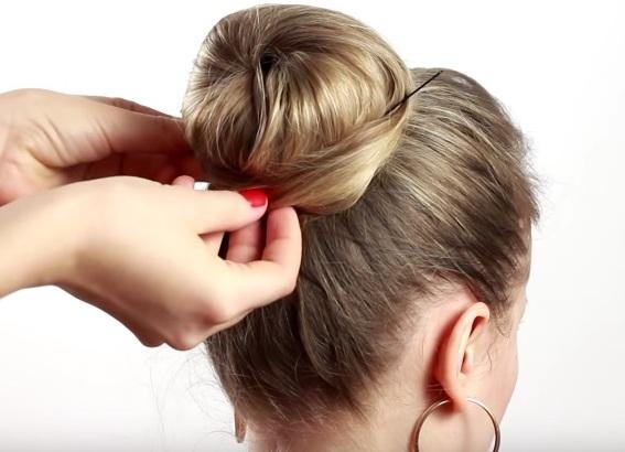 прически для тонких редких волос своими руками 9