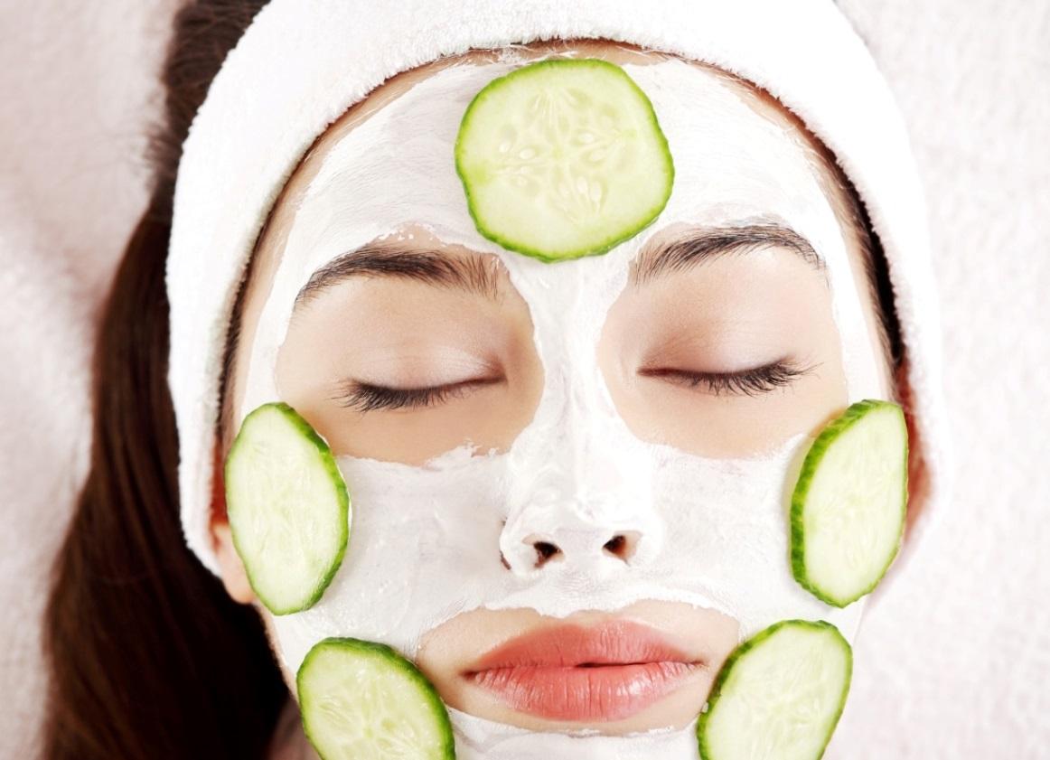 Огуречная маска для лица от морщин