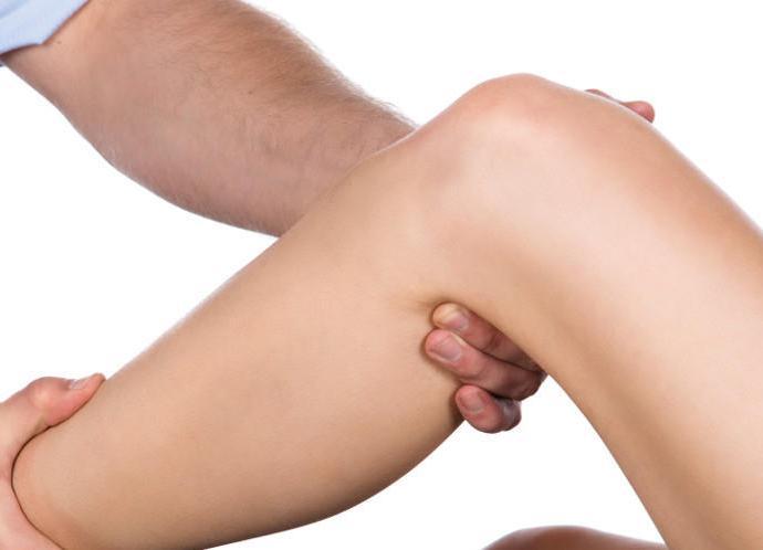Шишка под коленом сзади после нагрузки