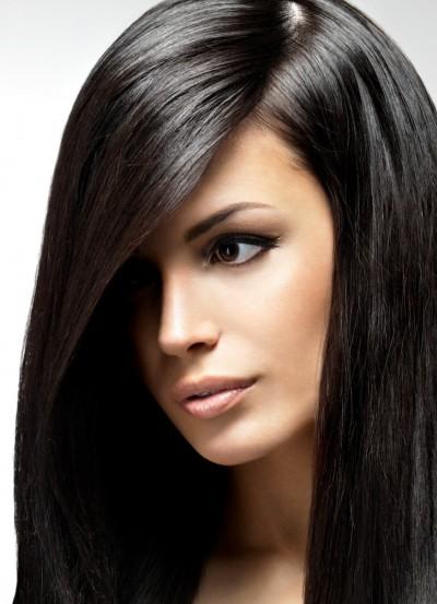 холодные оттенки темных волос фото