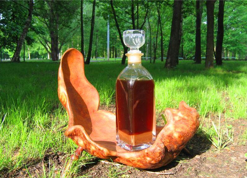 Бобровая струя – приготовление на спирту