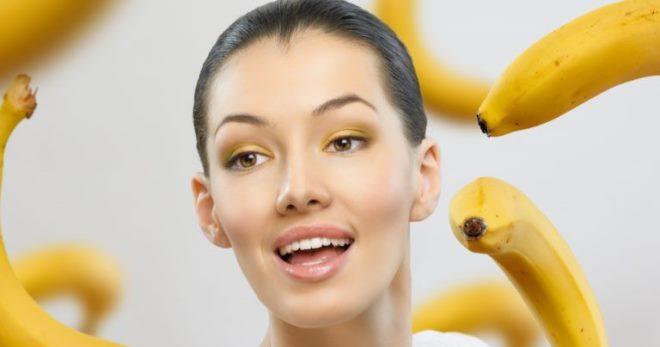 Маска для увядающей кожи лица из банана thumbnail