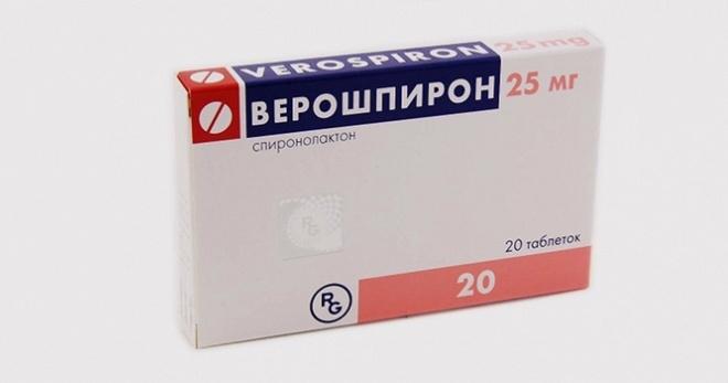 Верошпирон при лечении сердечной недостаточности -