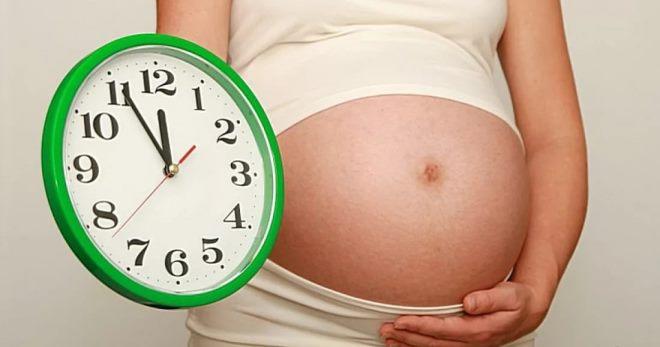 Как отходят воды у беременных перед родами, если отошли воды – через сколько рожать?
