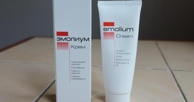 Крем Эмолиум – особенности применения препарата