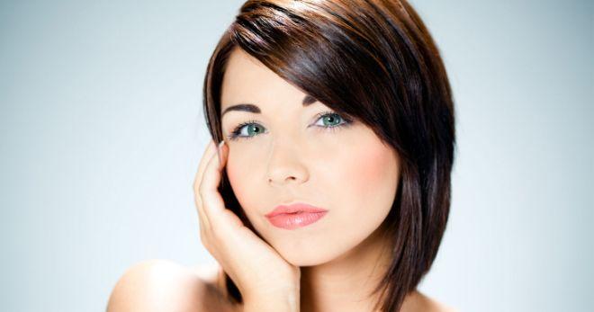 Прически для круглого лица – 30 вариантов для любой длины волос