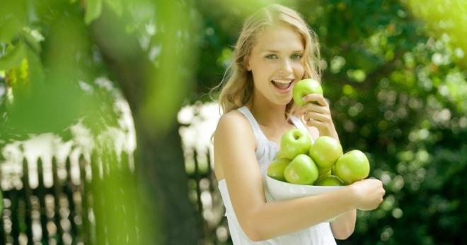 Может ли быть аллергия на яблоки у ребенка