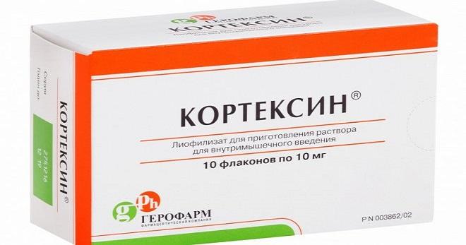 Кортексин - инструкция, применение, отзывы
