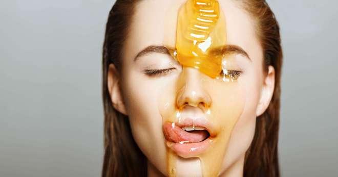 Мед для лица польза