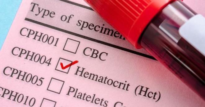 Что значит hct в анализе крови