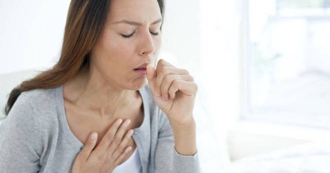 Сколько длится сухой кашель у взрослого