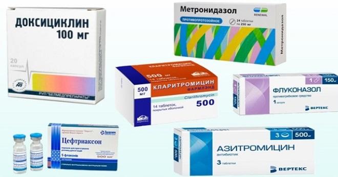 Уретрит антибиотики для лечения