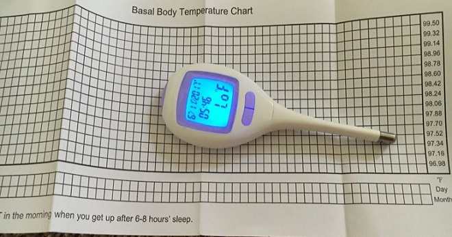 График БТ беременной. График базальной температуры